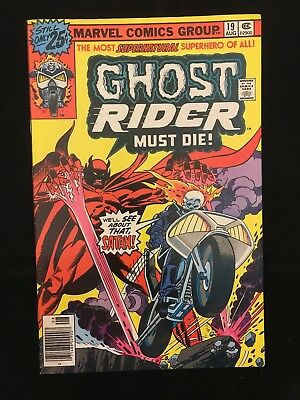 Ghost Rider #19 Fn/vf High Grade! Marvel Comics Bronze Age Ghost Rider!