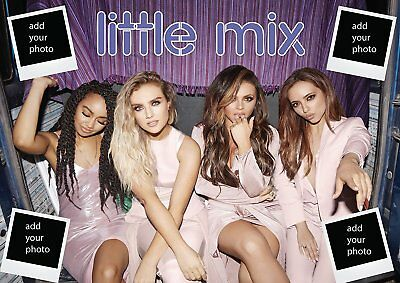 Little Mix Poster A1 Personalised Photo Glory Days (ADD YOUR OWN PHOTOS send aft