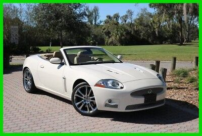 2009 Jaguar XKR XKR 400 HP With Adaptive Cruise Control 2009 Jaguar XKR Convertible Supercharged 4.2L V8 32V Automatic RWD Premium