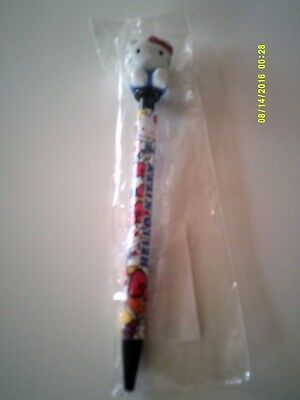 2012 HELLO KITTY MECHANICAL PENCIL WITH MASCOT Mint In Package Sanrio
