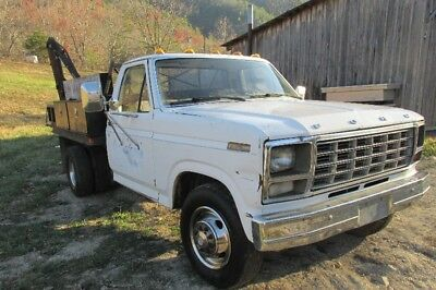 1980 Ford Pickup Truck with Dump Bed