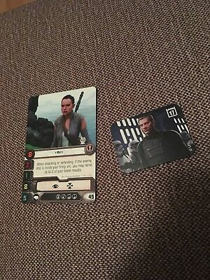 Agent Callus and Rey Promo Store X-Wing 2017