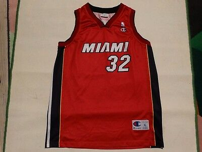 MIAMI collector ancien maillot basketball O NEAL 32 taille XL NBA jerzey maglia