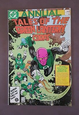 Tales Of The Green Lantern Corps Annual #2 Alan Moore - Blackest Night