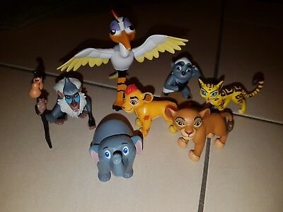 Lion guard toy collection