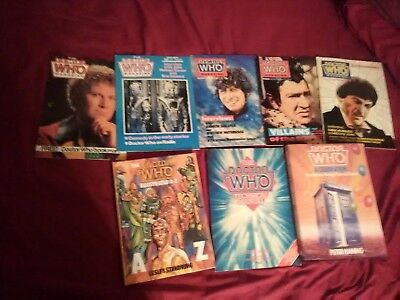 Doctor Who Classic Who Books and Magazines