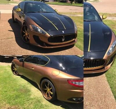 2010 Maserati Gran Turismo Base Coupe 2-Door 2010 custom granturismo gold and chocolate