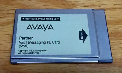 Avaya Partner Small Voice Mail Messaging PC Card 700226517
