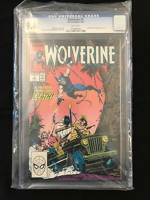 Wolverine #5 (1988 Series) CGC 9.6 White Pages