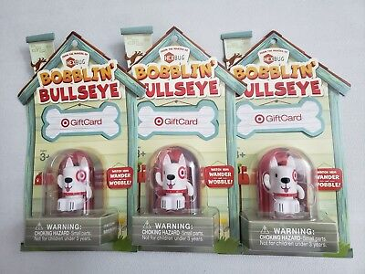 Target Gift Card (NO VALUE) with BOBBLIN' BULLSEYE DOG from the makers of HEXBUG