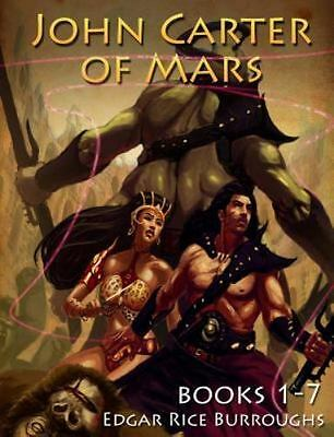 John Carter of Mars Series [Books 1-7] Mockingbird Classics