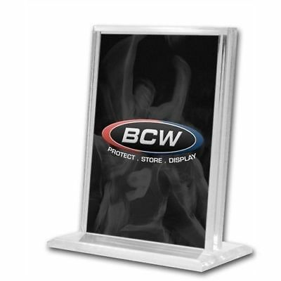 BCW - 1/2 Inch Vertical Acrylic Card Stand / Display or Holder with UV Protectio