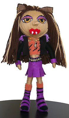 Stringlings String Dolls, Voodoo doll, Rare 30cm, Clawdeen Wolf, Monster High.