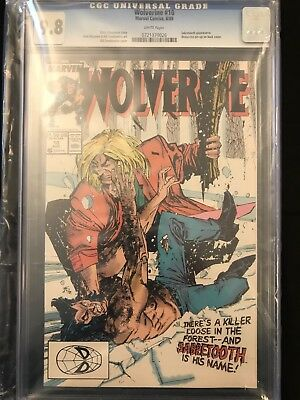 Wolverine #10 (1988 Series) CGC 9.8 White Pages