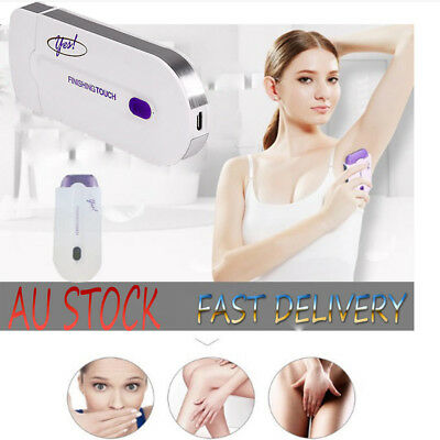 Women Laser Remover Instant & Pain Free Finishing Touch Hair Removal Body Face~