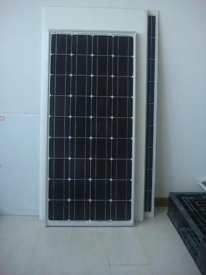 NEW 100W 12v Energy+ Solar Panel - Mono crystalline - MC4 Cables - TUV ISO UK