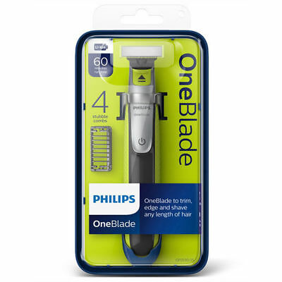 Philips OneBlade / One Blade Trimmer 4 COMBS - Trim, Edge & Shave QP2530/25 XMAS