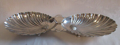 "Antique MANCHESTER SILVER CO 12"" Sterling Silver Candy/Nut Serving Dish Tray"