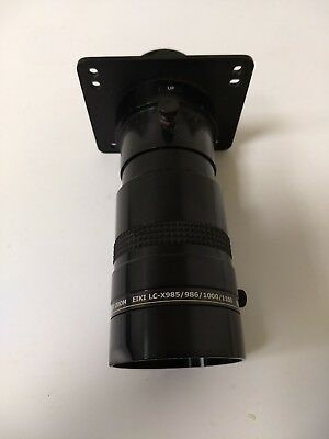 Navitar 835MCZ1218 NuView Short throw zoom Projection Lens Eiki LC-X985, LC-X986