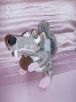 Scrat from Ice Age, 7 inches tall soft toy