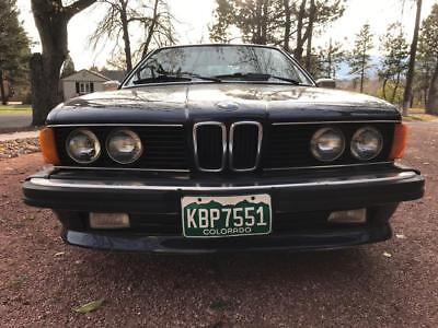 1987 BMW 6-Series Factory Standard 1987 BMW 635 CSI  Buy It Now and Reserve Price Lowered