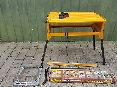 Triton 2000 workcentre never used Work Bench-pu melb 3174