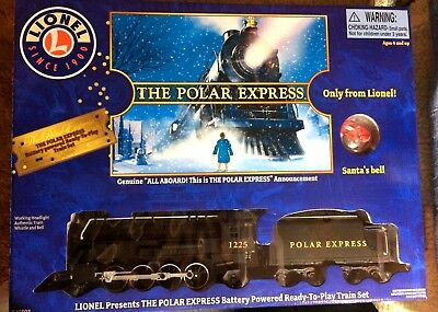 Lionel POLAR EXPRESS TRAIN SET NEW  7-11803  Ready to Play Free SANTA'S BELL