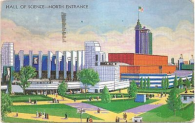 Hall of Science - A Century of Progress - Chicago IL - Divided Back Postcard
