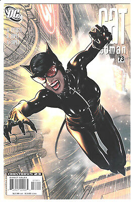 CATWOMAN #73 with cover art by ADAM HUGHES! DC Comics, 2008 NM/NM+