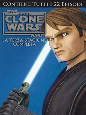 DVD STAR WARS THE CLONE WARS STAGIONE 03 varie Warner Home Video 1.85:1 Nuovo