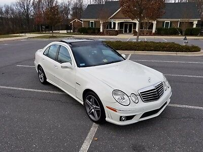 2007 Mercedes-Benz E-Class E63 2007 Mercedes Benz E63 AMG Rare options pano white on black 507HP 2nd owner