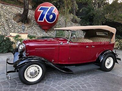 1932 Ford Other Custom Leather 1932 Ford Phaeton All Henry Steel