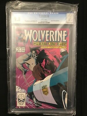 Wolverine #12 (1988 Series) CGC 9.8 White Pages
