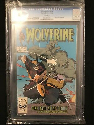 Wolverine #14 (1988 Series) CGC 9.8 White Pages