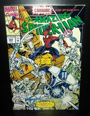 AMAZING SPIDER-MAN #360 VF/NM 9.0  First Carnage - 1st PRINTING (1992 MARVEL)