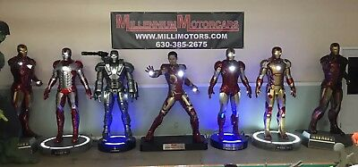 Life Size Marvel Ironman Collection Tony Stark War Machine Beast Kingdom Muckle