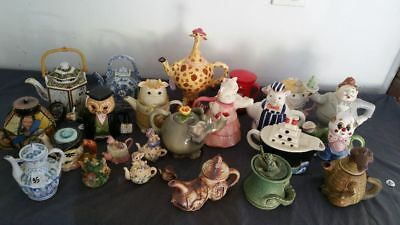 Novelty Teapot Collection