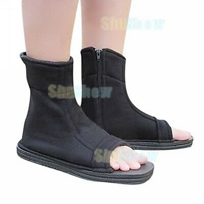 Cosplay Shoes Inspired by Naruto Ninja Black Halloween japanese anime