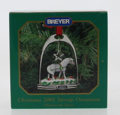 Lot Of 6 BREYER 1999-2004 Christmas Ornaments