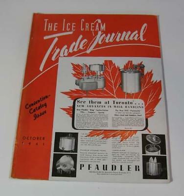 The Ice Cream Trade Journal October, 1941