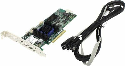 Adaptec 6405 KIT SATA/SAS, RAID0, 1, 5, 10, 50, 60, 4-Port, PCIEx8, 512MB