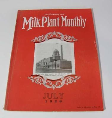 Milk Plant Monthly Magazine July, 1928