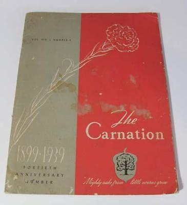 The Carnation 40th Anniversary Edition, 1939, Carnation Dairy Co.
