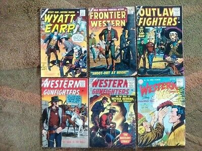 WESTERNS.....13 COMCS.....1950s.....ATLAS and DC TITLES.....G/VG