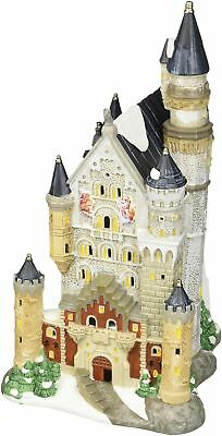 Department 56 Alpine Village Neuschwanstein Castle Light House 12""