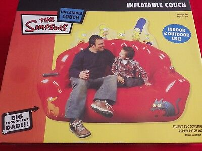 Simpsons Inflatable Couch