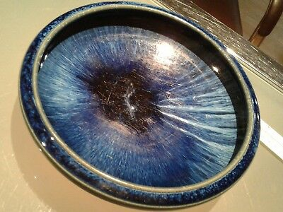 Denby    Electric  Blue  Bowl Bourne England Danesby Ware