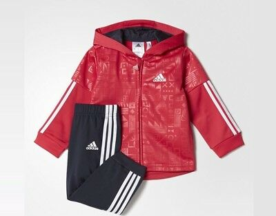 ADIDAS SHINNY HOODED JOGGER SET 12 TO 18MTHS RRP70 #SundayMkt