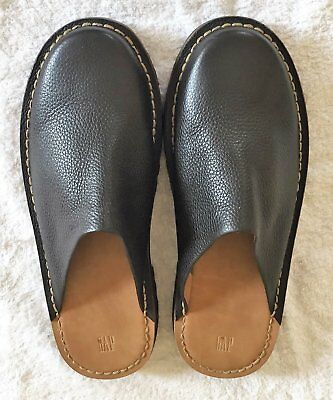Gap mens Leather slippers size 11