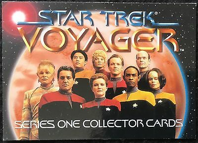 STAR TREK VOYAGER - TRADING CARDS, 89 Cards, 1995, Series 1, Incomplete, Skybox